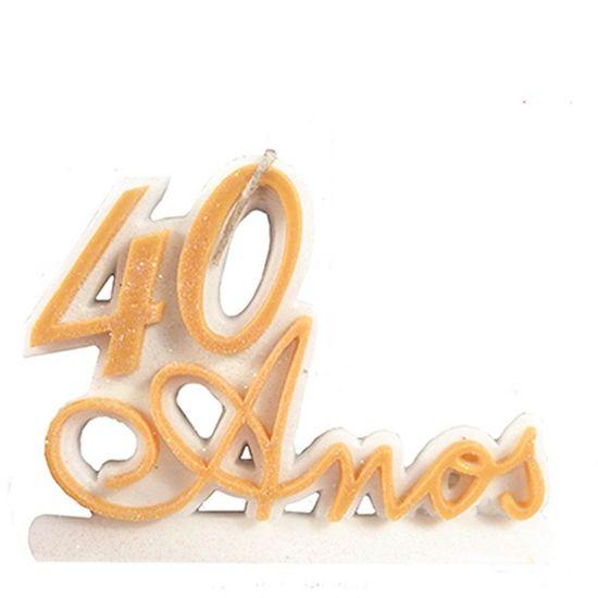 Vela 40 Anos Ouro