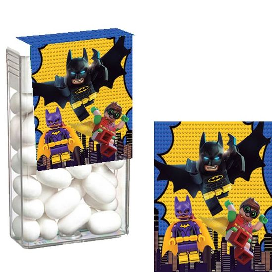 Festa Lego Batman - Adesivo Especial para Tic Tac Lego Batman - 08 Un