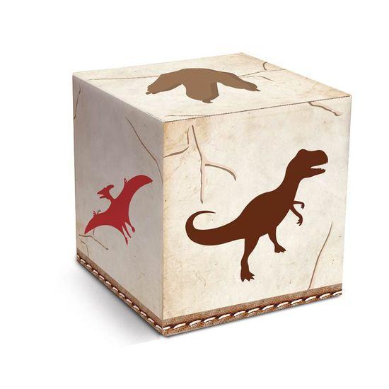 Festa Dinossauros - Cromus Mundo dos Dinossauros - Caixa Cubo 08 unidades