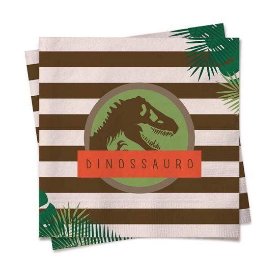 Festa Dinossauros - Guardanapos 25cm 20 Un