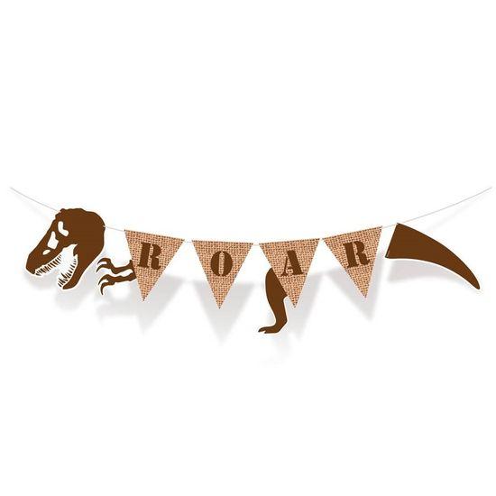 Festa Dinossauros - Faixa Decorativa Roar