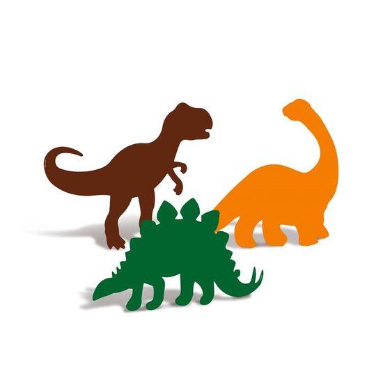 Festa Dinossauros - Silhueta Decorativa 04 Un