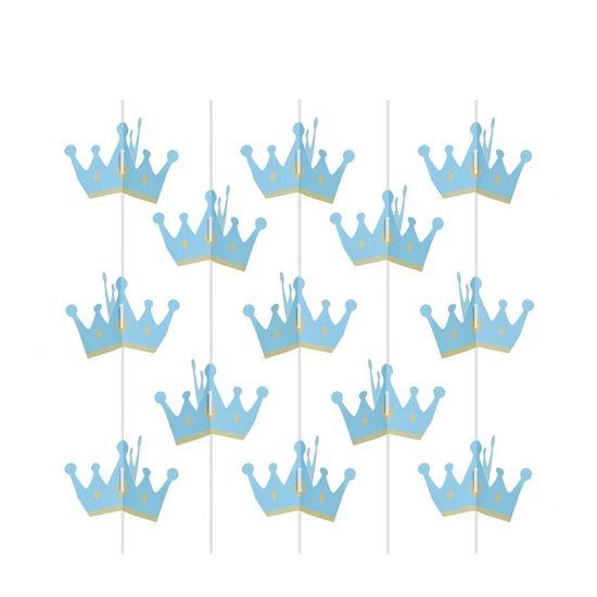 Festa Reino Encantado Menino - Cortina Decorativa 3D 04 Un