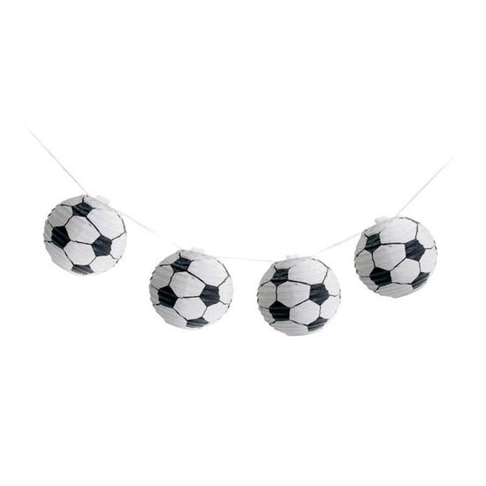 Festa Festa Futebol - Varalzinho de Lanternas Bolas