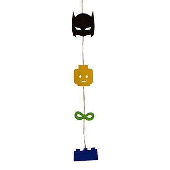 Festa Lego Batman - Móbile Artesanal Lego Batman 80cm