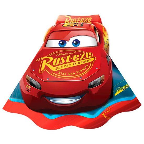 Festa Carros Disney - Chapéu de Aniversário Cars Disney 3 - 08 Un
