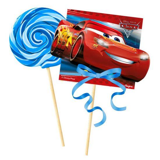 Festa Carros Disney - Enfeite para Pirulito Cars Disney 3 - 08 Un