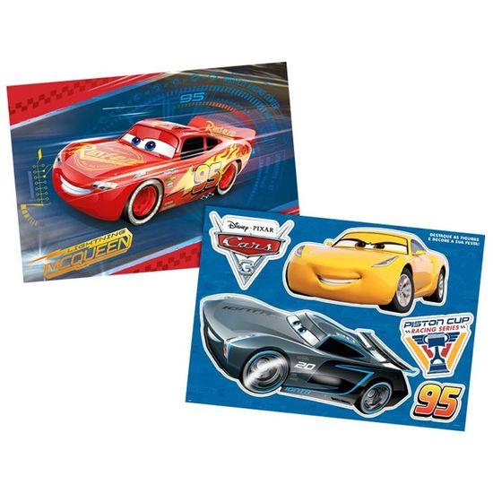 Festa Carros Disney - Kit Decorativo Cartonado Cars Disney 3