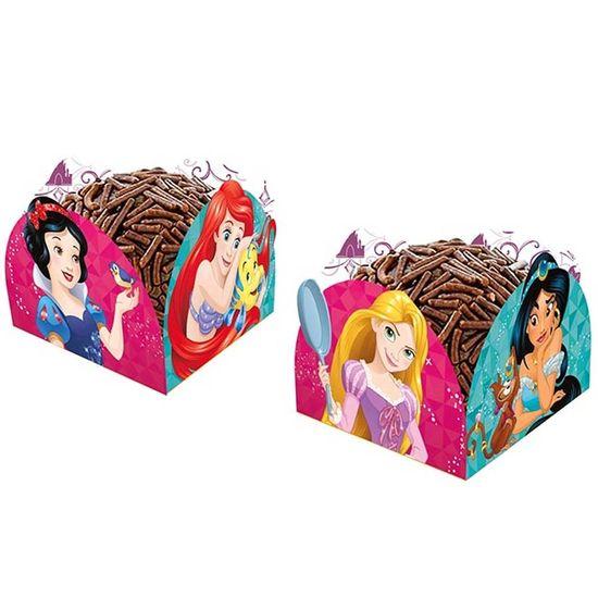 Festa Princesas Disney - Porta-forminha Princesas Amigas - 50 Un