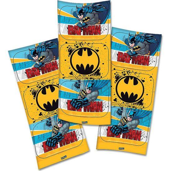 Festa Batman - Adesivo Retangular Batman Clássico - 04 cartelas