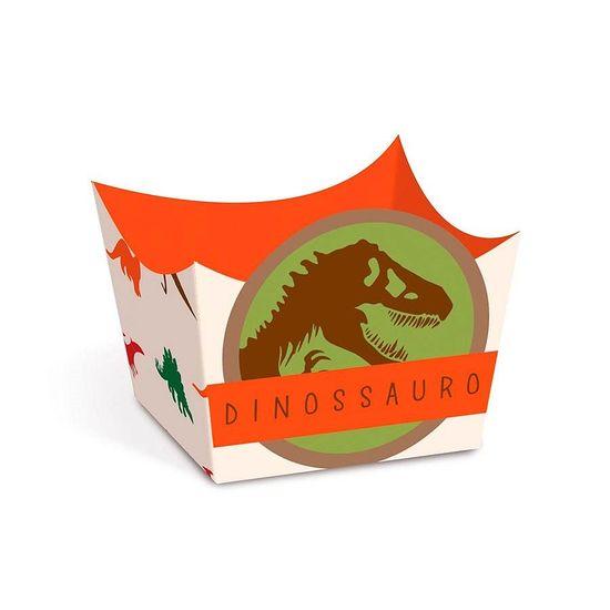 Festa Dinossauros - Cromus Mundo dos Dinossauros - Forminha para Doces 24 unidades