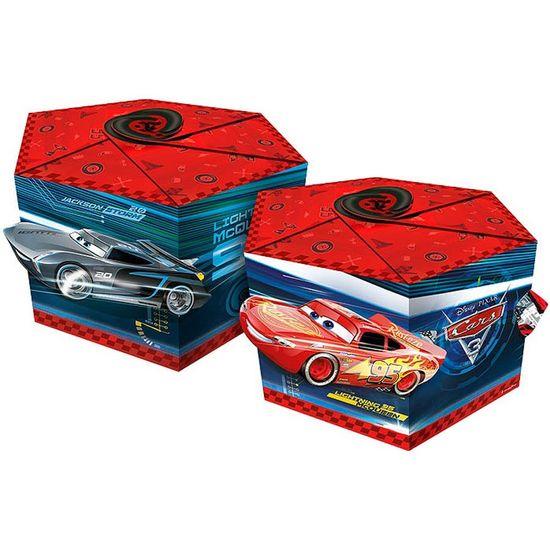 Festa Carros Disney - Caixa Surpresa Sextavada Cars Disney 3 - 08 Un