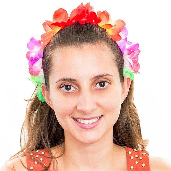 Tiara Havaiana Para Festas - Cores Variadas