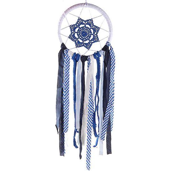 Filtros dos Sonhos Importado para Decoração (66cm) Azul Escuro