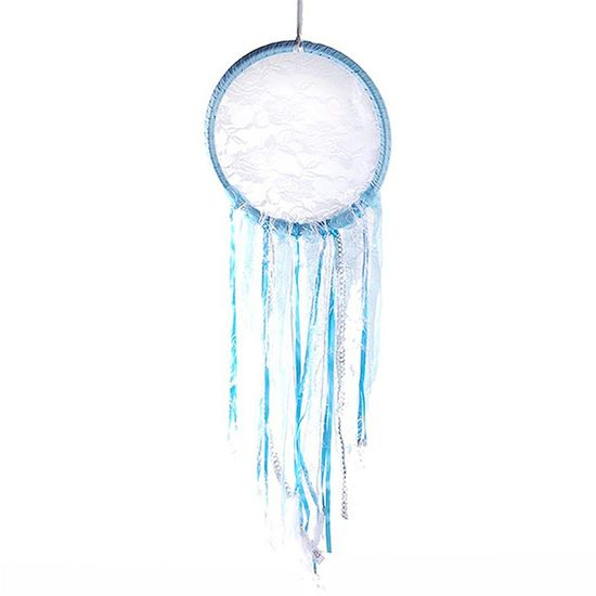 Filtros dos Sonhos Importado para Decoração (76cm) Azul Claro