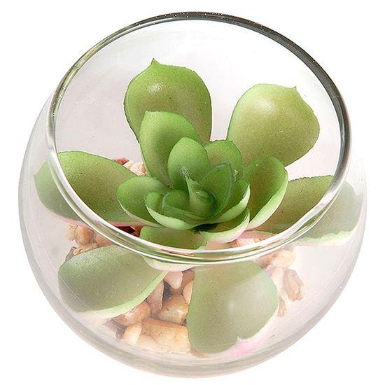 Mini Vasinho de Suculenta Artificial - Green Prince