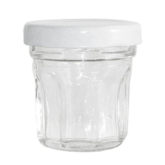 Potinho de Vidro Luxo - 25 ml