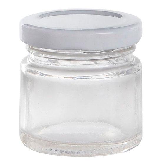Potinho de Vidro Redondo - 40 ml