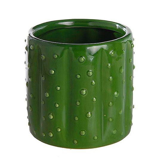 Vaso Decorativo Cactos de Cerâmica
