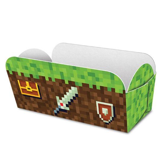 Festa Minecraft - Caixa para Hot Dog Game - 08 Un