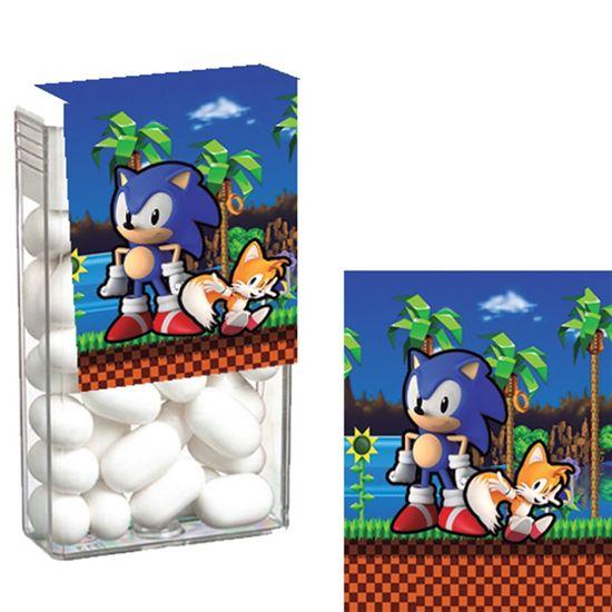 Festa Sonic - Adesivo Especial para Tic Tac Sonic - 08 Un