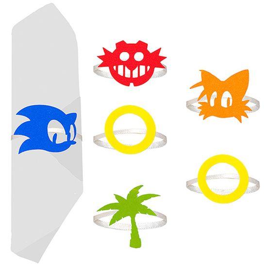 Festa Sonic - Porta Guardanapo Sonic - 06 Un