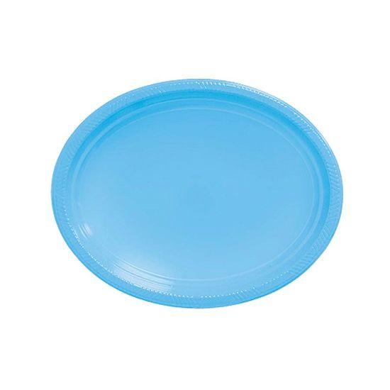 Bandeja Happy Line (31x25cm) Azul Bebê - 05 Un