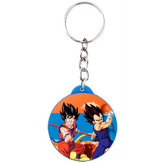 Festa Dragon Ball - Chaveiro Plástico Especial Dragon Ball - Guerreiros