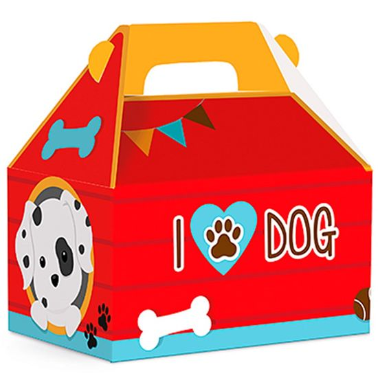 Festa Cachorrinhos - Caixa Maleta Kids M 10 Un