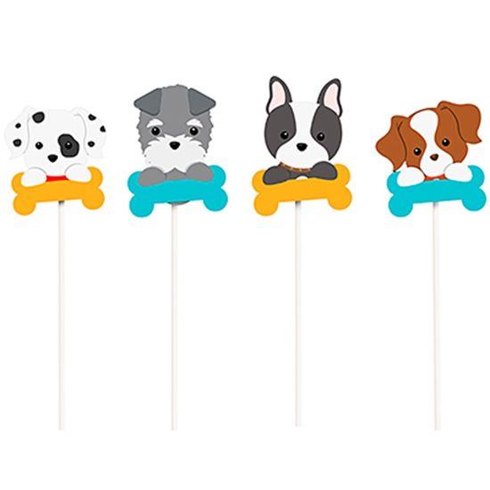 Festa Cachorrinhos - Pick Longo 08 Un