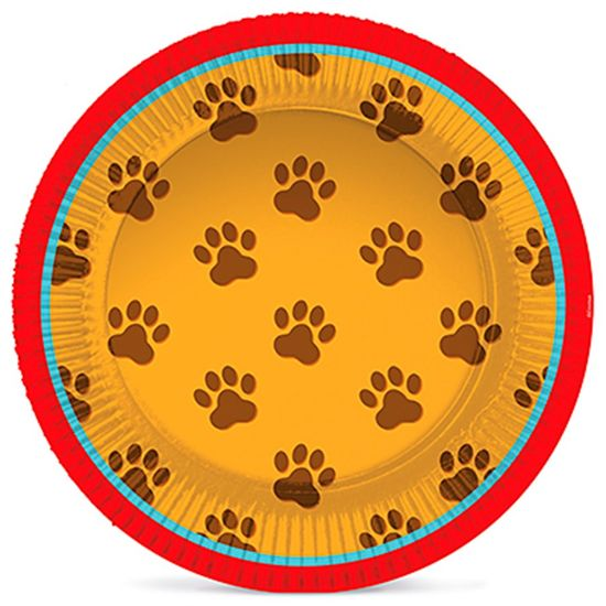 Festa Cachorrinhos - Prato Laminado 6
