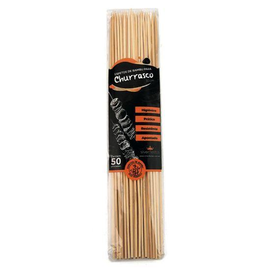 Espeto de Bambu para Churrasco (25cm) 50 Un