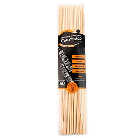 Espeto de Bambu para Churrasco (30cm) 50 Un