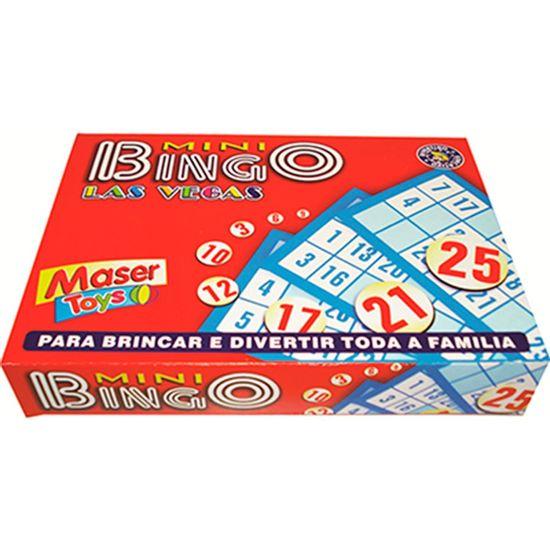 Lembrancinha Infantil - Mini Jogo de Bingo Las Vegas