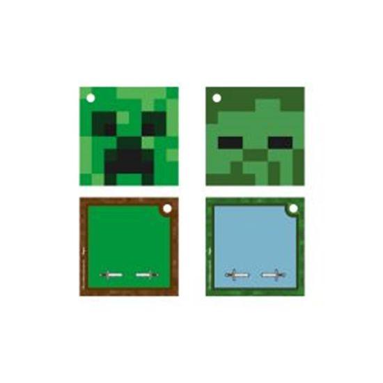 Festa Minecraft - Tangs com Furo Minecraft - 08 Un