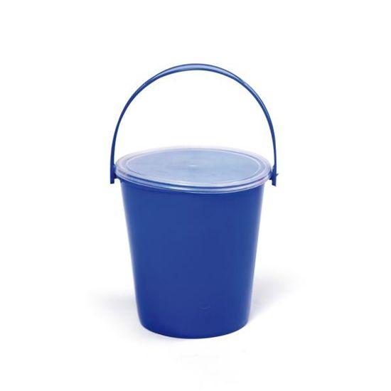 Baldinho Liso Azul Escuro 10x11