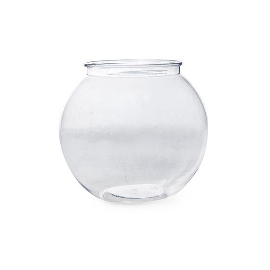 Bomboniere Aquário Transparente 17,5x17,5x16
