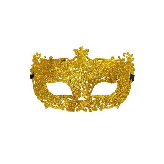 Acessório Máscara Elegancia Ouro - 1 Unidade