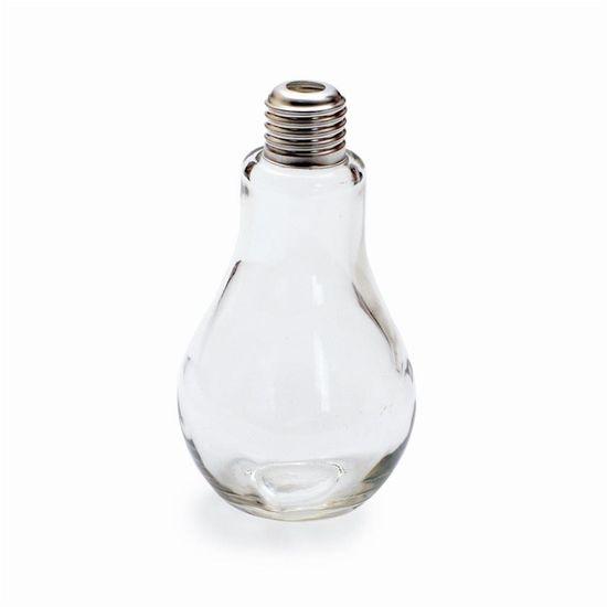 Lâmpada de Vidro para Bebida Transparente 200ml- 1 Unidade Lâmpada de Vidro para Bebida Transparente 200ml - 1 Unidade