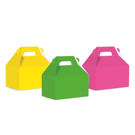 Neon - Caixa Maleta Kids Neon Sortido Médio 12x8x12 - 10 Un