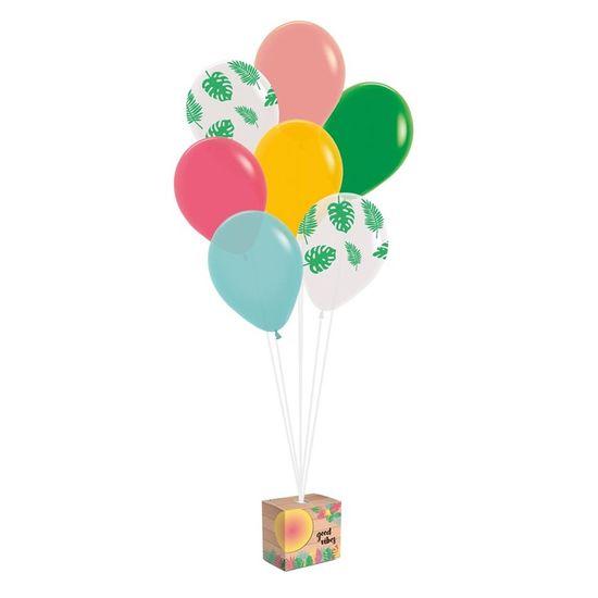 Cromus Tropical Tucano - Kit Balões para Decoração de Painel Tropical Tucano  - Kit com 1 Peça