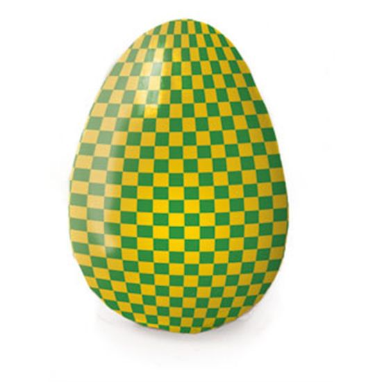 Folha Chumbo Xadrez Brasil Verde e Amarelo 10X9,8 - 300 Un