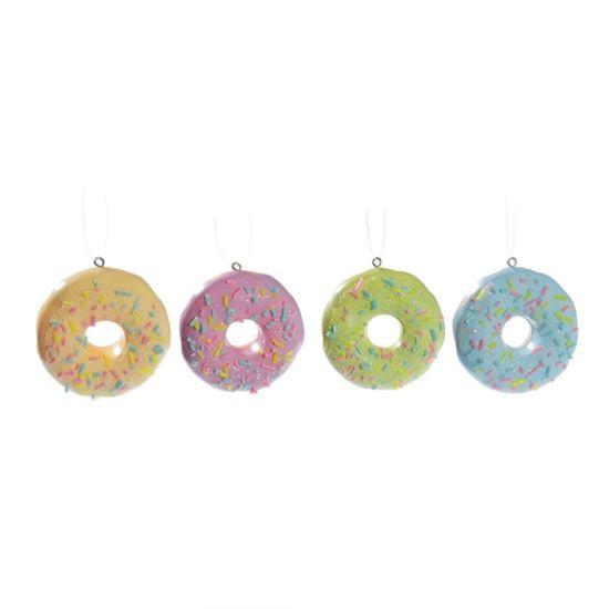 Cromus - Mini Donuts Patisserie Sortido (Patisserie) - Jogo 4 - Pacotes