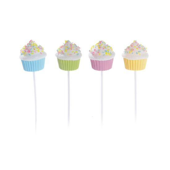 Cromus - Pick Cupcakes Patisserie Sortido (Patisserie) - Jogo 4 - Pacotes