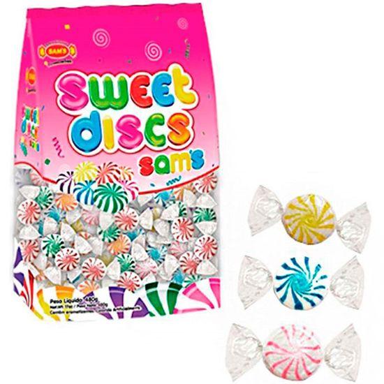 Bala Sweet Discs Sams Sortida 480g - Sams