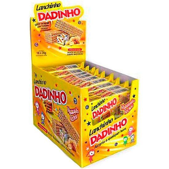Biscoito Wafer Lanchinho Dadinho Dizioli 26g - 18 Unidades