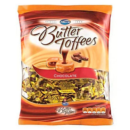 Bala Butter Toffees Chocolate 600g - Arcor