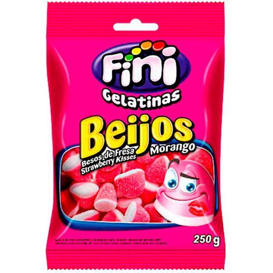 Bala de Gelatina Beijos 250g - Fini