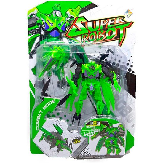 Lembrancinha Infantil - Super Robô Modo Combate