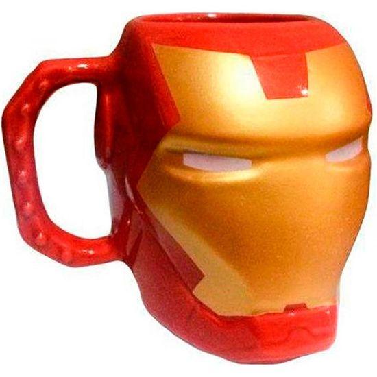 Caneca 3D Homem de Ferro 400ml